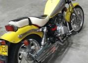 Vendo cambio moto color amarillo