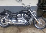 Harley davidson vrod ano 2006 color negro