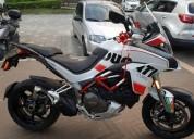 Ducati multistrada 1200 s full cara nueva 6550 kms color blanco