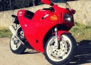 Ducati 851 superbike color rojo