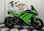 Kawasaki ninja 300 color verde