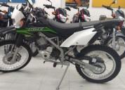 Kawasaki klx 150 color negro