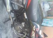 Vendo moto kawasaki wind 125 color negro