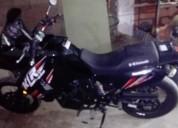 Moto klr ano 2013 color negro