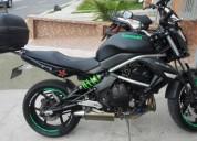 Kawasaki modelo 2010 color negro