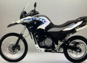 Bmw sertao 650 modelo 2013 color blanco