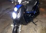 Moto bws 4 tiempo color negro
