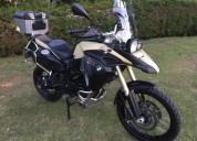 Bmw 800 adventure 2014 full accesorios color beige