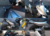 Vendo moto bmw 650 c sport scooter ganga color gris
