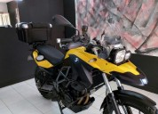 Bmw gs 650 color amarillo