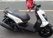 Sevende moto biwis 2018 poco uso color blanco