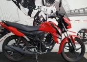 Suzuki hayate modelo color rojo