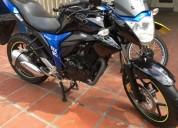 Suzuki gixxer 2018 como nueva color azul