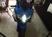 Susuki gsx r 750 2009 como nueva k color azul
