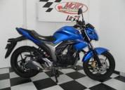 Suzuki gixxer 150 color azul