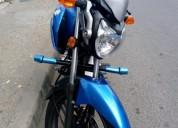 Espectacular suzuki gsx 125 como nueva color azul