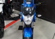 Suzuki gixxer 2016 color azul