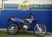 Yamaha xtz 125 modelo 2018 color azul