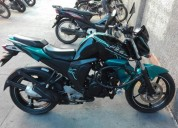 Vendo yamaha fz inyeccion barata color negro