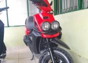 Vendo o cambio bws 2008 en buen estado color rojo
