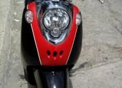 Yamaha fino color negro