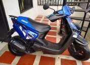 Yamaha bws 100 valluna buen motor color azul