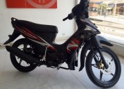 Yamaha crypton full injection color negro