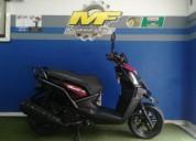 Yamaha bws 125 color negro