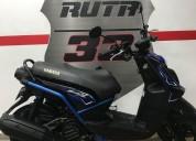 Yamaha bws x modelo 2018 color negro