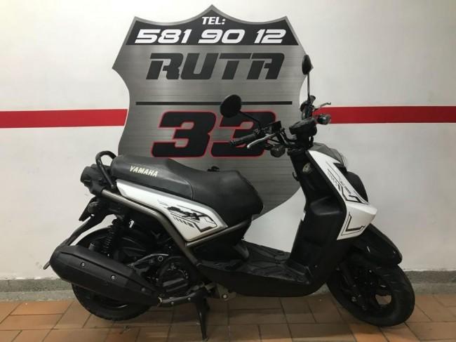 Yamaha Bws X 2017 color Blanco