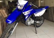 Yamaha xtz azul modelo 2018 color azul