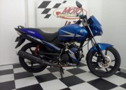 Yamaha ybr 125 color azul