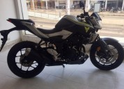 Yamaha mt 03 modelo 2018 color negro
