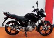 Yamaha ybr 125 2017 color negro