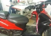 Sevende moto modelo 2013 color rojo