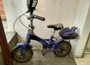 En venta bicicleta de nino color azul