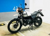 Royal enfield himalayan color blanco