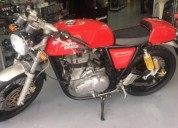 Cafe racer 2015 perfecto estado color rojo
