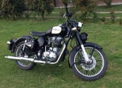 Royal enfield classic 350 negra 2011 color negro