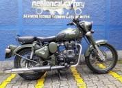 Royal enfield classic 500 color verde