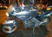 Vendo moto 250 color gris