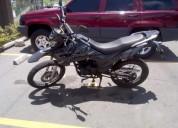 Cambio um por moto chopper color negro