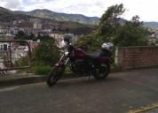 Vendo hermosa moto renegade bobber color rojo