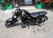 Cafe racer 200 vencambio moto menor valo color negro