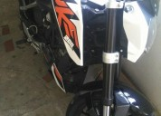 Vendo cambio ktm duke 200 color negro