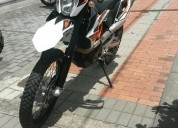 Vendo ktm 690 enduro r 2016 color negro