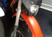 Ktm 200 modelo 1999 color anaranjado