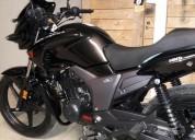 Canbio moto color negro