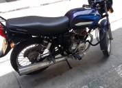 Sevende moto boxer color azul