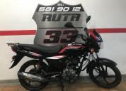 Auteco platino 125 2013 color negro